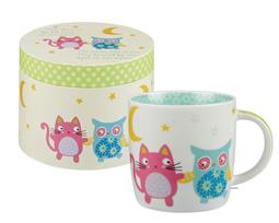 The Owl and the Pussy Cat Mug Hatbox 284ml Gift Box