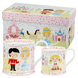 Cinderella Two Mug Set Gift Box