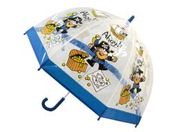 PVC Clear Dome Umbrella Pirate