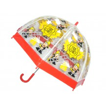 PVC Clear Dome Umbrella Fire Chief