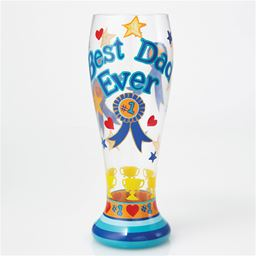 Lolita Best Dad Ever Beer Glass