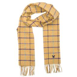 L&S Scarf - Natural Windowpane