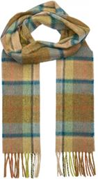 L&S Scarf - Frame Check - Heather Blue