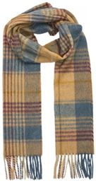 L&S Scarf - Fence Check - Blue