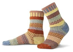 Sandstone Adult Mis-matched Socks - Small 4-6