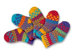 Firefly Mis-matched Infant Socks 0-6 months