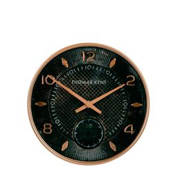 10 inch Jet Black Shilling Wall Clock