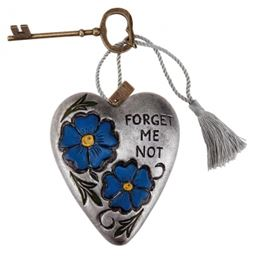Forget Me Not Art Heart