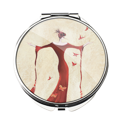 Madame Butterfly - Compact Mirror