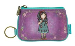 Pulling on your Heart String Keyring Zip Purse