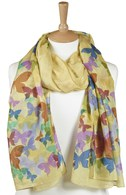 Flutter Scarf - Yellow