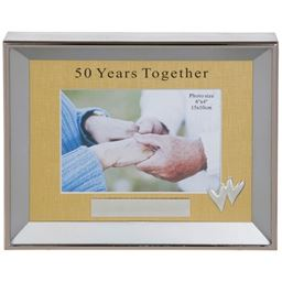 Box 50th Anniversary Frame