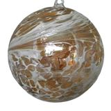 SGW00000-13 Sienna Glass Friendship Ball 10cm Christening Gold