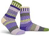 SS00000-74 Orchid Adult Mis-matched Socks - Medium 6-8