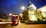 IEP00000-09 London Bus & St Pauls LED Canvas