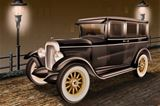 IEP00000-14 Classic Car 1930 Buick LED Canvas