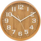 JD00000-121 11 inch Chic Kitchen Clock Bamboo