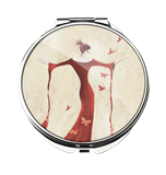 M00000-28 Madame Butterfly - Compact Mirror