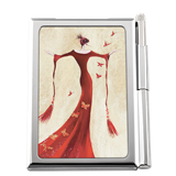 M00000-37 Madame Butterfly - Notepad and Pen