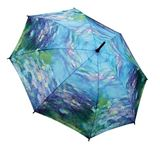 UBB00000-02: Water Lilies Monet Folding Umbrella (gift boxed)
