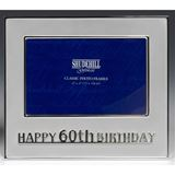 PF00000-104: Classic 60th Birthday Photo Frame