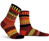 SS00000-130 Fire Adult Mis-matched Socks - Small 4-6